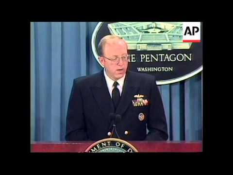 USA: PENTAGON USS COLE ATTACK PRESS BRIEFING
