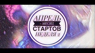 45. Вышивка крестом. АПРЕЛЬ - МЕСЯЦ СТАРТОВ 2019. Неделя 2.