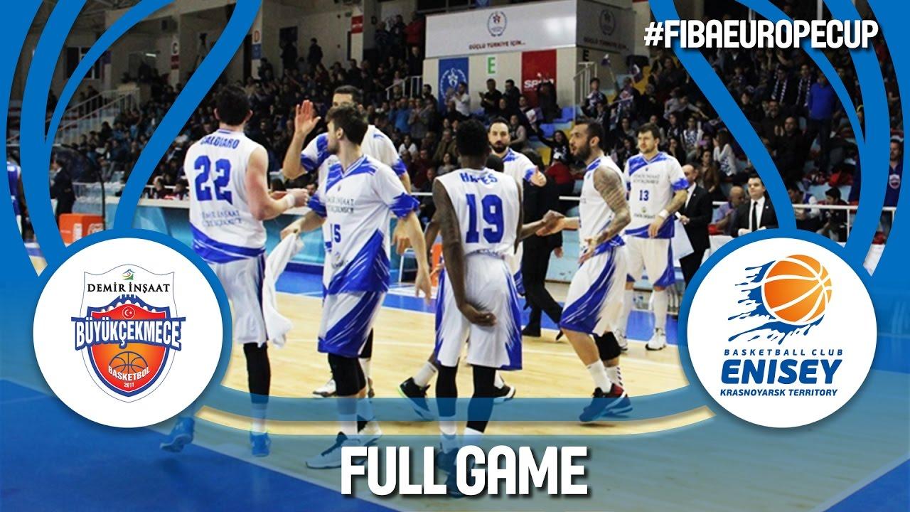 Demir Insaat (TUR) v BC Enisey (RUS) - Ro16 - Full Game - FIBA Europe Cup 2016/17