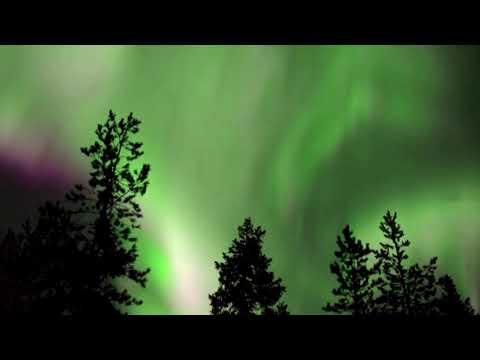 Stunning Northern Lights illuminate the Finnish sky