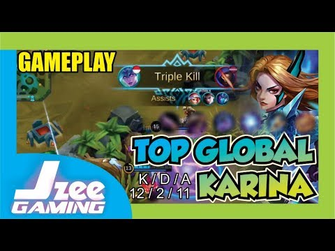 Very Fast ! Top Global Karina Veejay1998 than Tz Taiwanese - Mobile Legends