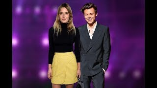Harry performing 'Kiwi' at the Victoria's Secret Fashion Show feat Camille Rowe