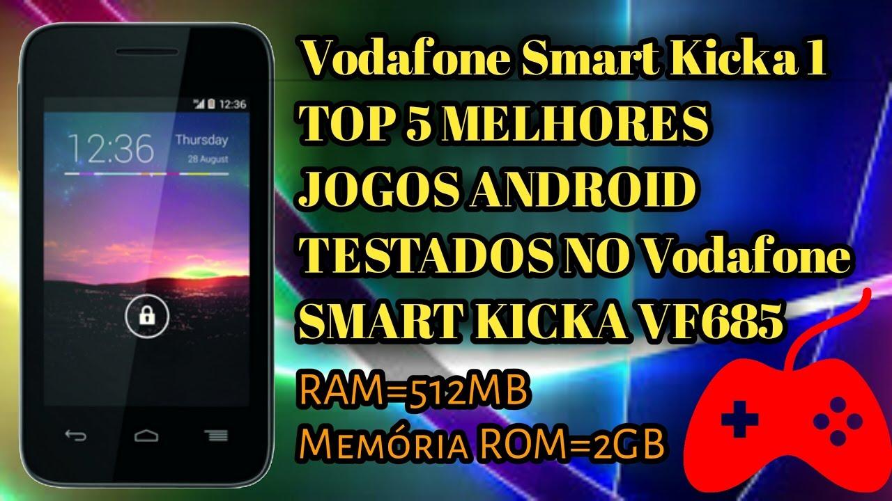 Top 5 melhores jogos para Android testados no Vodafone smart