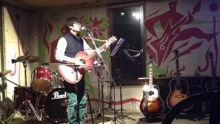2013/12/27 Song By ミズノケイスケ @サンハウスカフェ(豊田市平芝町)