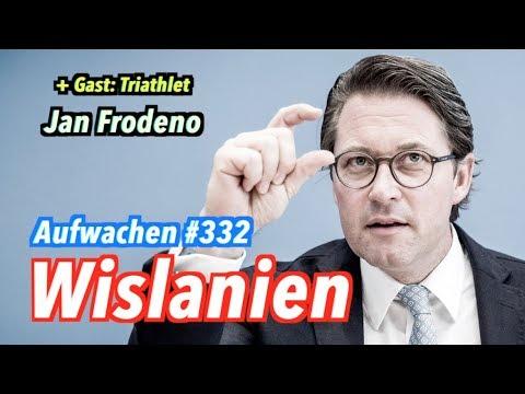 Aufwachen #332: Dieselregierung, Rohstoff Schwein + Gast: Jan Frodeno