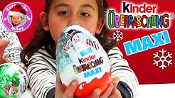 Kinderüberraschung Maxi Eier Weihnachts Edition - Surprise Eggs - Kinderkanal