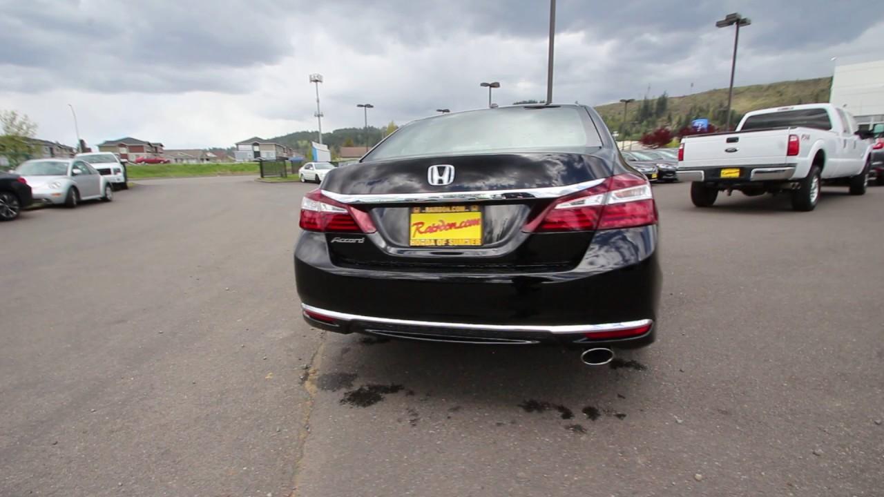 2017 Honda Accord Ex L Crystal Black Pearl Ha205562 Seattle Sumner