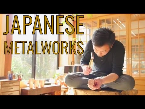 How it's Made - Traditional Japanese Metalworks - Niigata Vlog