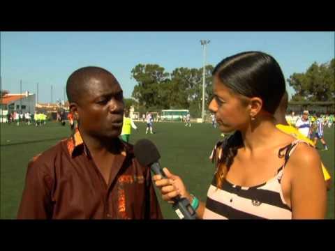 LEENUS KAPUTA CHAIRMAN LUSAKA YOUTH SOCCER ACADEMY ZAMBIA IN SERAHANA SPORTS IBERCUP