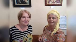 БОЛГАРИЯ.ВАРНА МАРИЯ НИКОЛОВА//ВЫСТАВКА КАРТИН ИЗ РАКУШЕК
