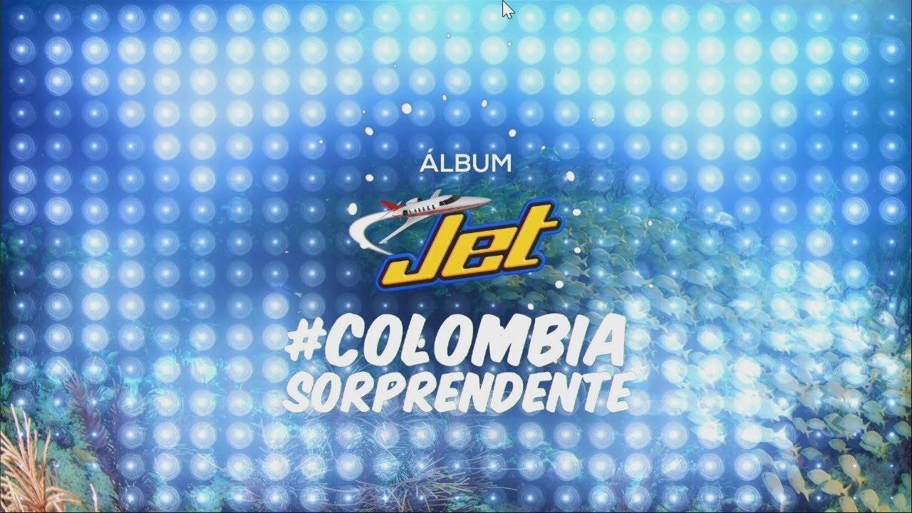 Lanzamiento NUEVO Álbum Jet #ColombiaSorprendente