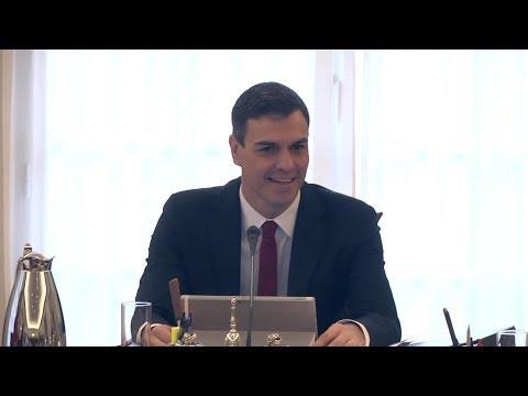Rueda de prensa tras el Consejo de Ministros: Isabel Celaá