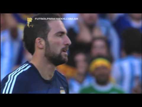Higuaín y la chance ante Alemania