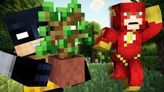 Minecraft: Batman & The Flash Play Hide and Seek