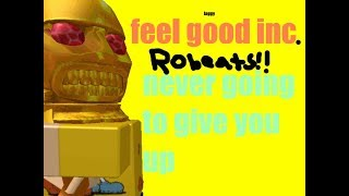 Roblox Robeats (Feel Good . Inc ( laggy ) Never Going To Give You Up. (COMBO 100 und mehr ) 6 verpassen