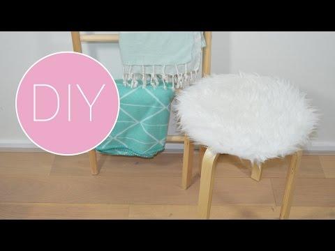 Frosta Krukje Ikea : Diy ikea hack fluffy frosta kruk youtube