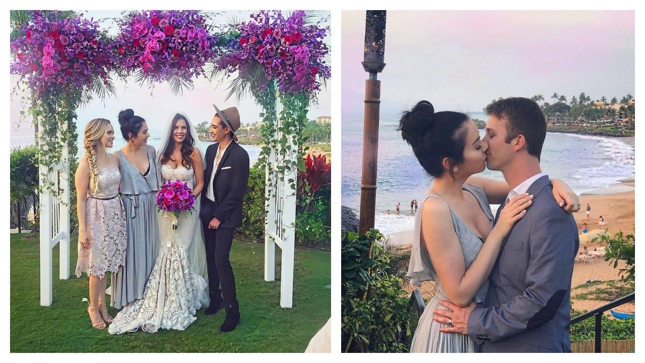 Tatis hawaii wedding vlog youtube junglespirit Images