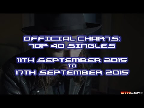 Official Charts (UK): Top 40 Singles (11th September 2015 - 17th September 2015)
