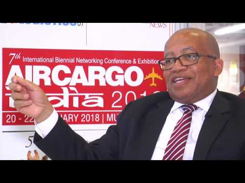 Tleli Makhetha, General Manager, SAA Cargo, at Air Cargo Africa 2017