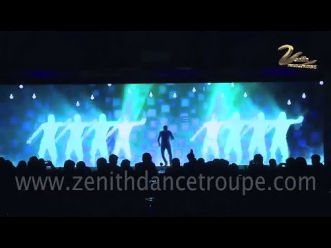 LED screen Interactive Dance Performance Zenith Dance Company New Delhi Mumbai India