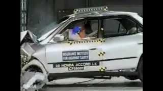 62. IIHS Crash Test 1993, 1994, 1995 and 1998 Honda Accord