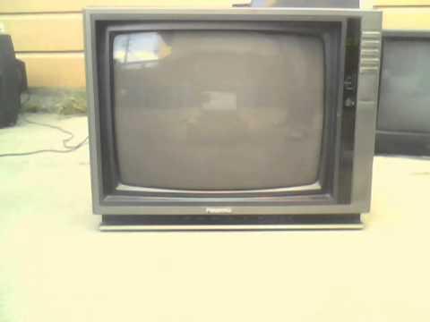 The 1987 Panasonic Compufocus Ctj 1941r Crt Tv Works