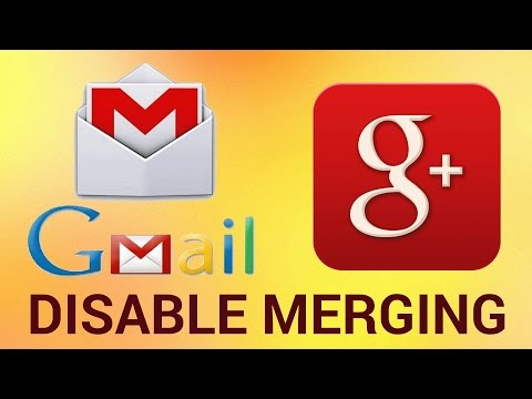 How to Disable Merging Google Plus and Gmail Contacts