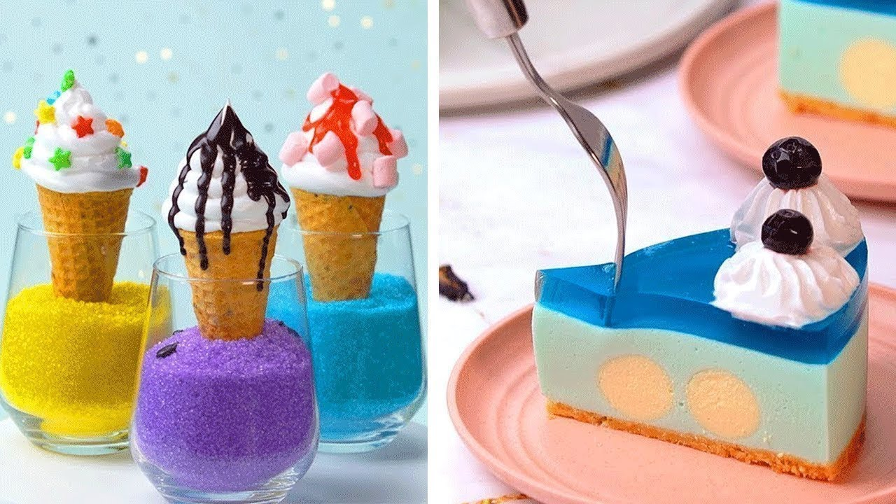 12 Desserts from Around the World!  Popular Desserts and Sweet Cake by Tasty Plus | So Yummy Cake