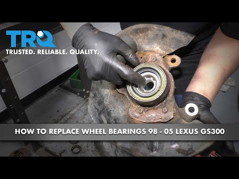 How to Install Front Wheel Bearing 1998-2005 Lexus GS300