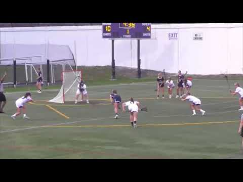 Women's Lacrosse Highlights from Landmark Conference Semifinals at Scranton on May 2, 2018