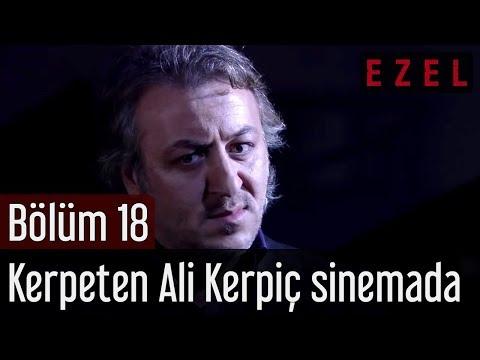 Ezel 18.Bölüm Kerpeten Ali Kerpiç Sinema Salonu Sahnesi