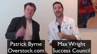 Benefits of accepting Bitcoin - Patrick Byrne Overstock CEO explains