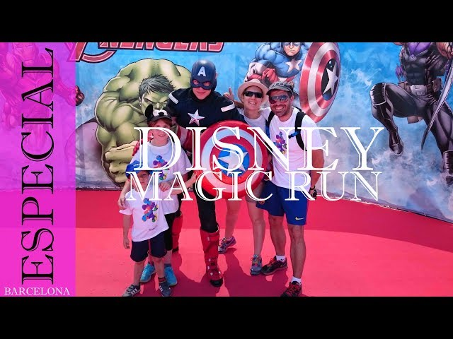 Disney Magic Run Barcelona 2015