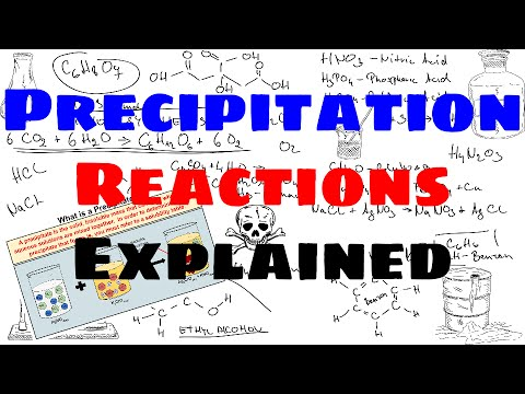 Precipitation Reactions Explained Youtube