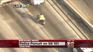 police chase suspect tricks police by taking off coat and walking away 10 02 13