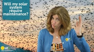 Solar Power Myths: My solar panel system will require maintenance