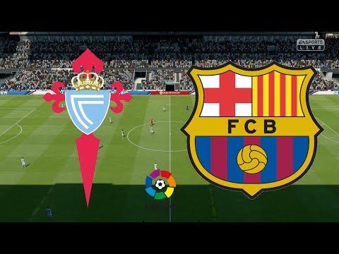 La Liga 2018/19 - Celta Vigo Vs Barcelona - 04/05/19 - FIFA 19