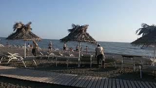 Санаторий Самшитовая роща. Честный обзор. Парк. Пляж. Сауна. Пицунда, Абхазия 27 июля 2019 г.
