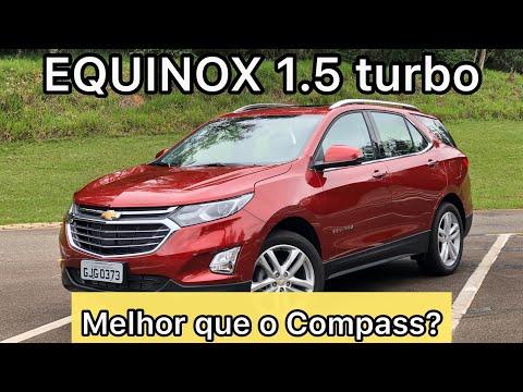 Novo EQUINOX 15 turbo é melhor que o Jeep Compass? VEJA