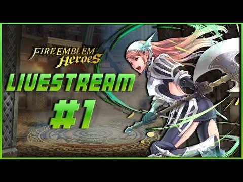 Fire Emblem Heroes - FIRST STREAM, Tempest Trials, and Arena Assault!