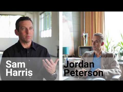 Sam Harris & Jordan Peterson About Gender Pronouns and Freedom of Speech