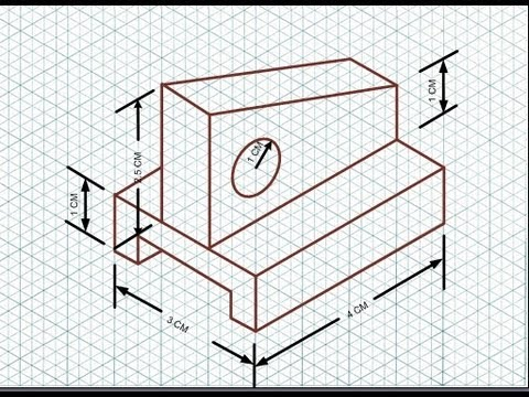 Isometric Drawing - Ex...