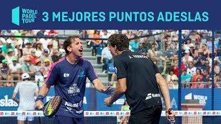 Los tres Mejores Puntos ADESLAS del Valladolid Master 2019
