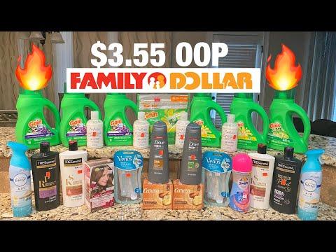 🔥Family Dollar All Digital Scenarios🔥 Family Dollar Couponing $3.55 OOP 🔥🔥🔥🏃🏾♀️🏃🏾♀️