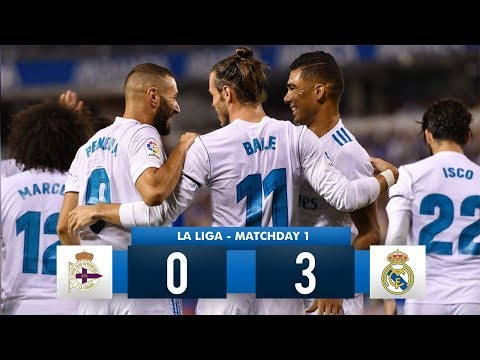 Thumbnail: Deportivo La Coruña 0-3 Real Madrid HD 1080i Full Match Highlights (20/08/17)