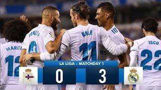 Deportivo La Coruña 0-3 Real Madrid HD 1080i Full Match Highlights (20/08/17)