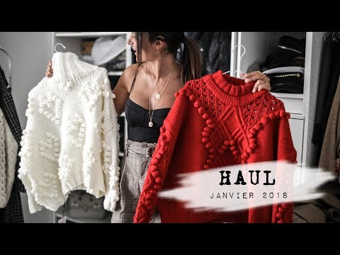 HAUL & TRY ON - Février 2018
