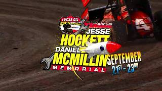 September 21st-23rd, 2017 ASCS Jesse Hockett/Daniel McMillin Memorial