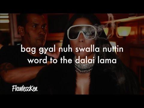 Nicki Minaj - Swalla (Verse - Lyrics)