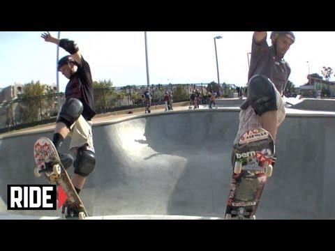 Tony Hawk & Andy Macdonald Skate INSANE Doubles session